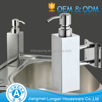 Hot Sale Kitchen Sink Square Round Wall Mounted Stainless Steel Foam Liquid Soap Dispenser Buy Liquid Soap Dispenser Liquid Soap Dispenser Liquid