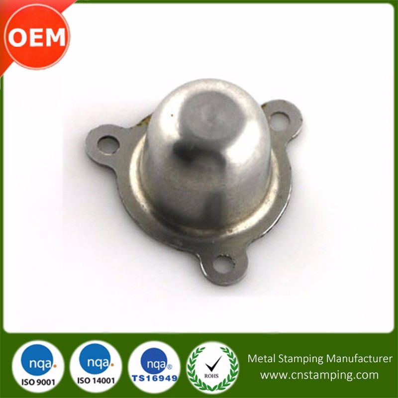 Electronic Parts Custom Precise Stamping deep drawing stainless steel part