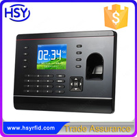 HSY-F308 Finger keypad card reader tcp/ip firmware program time attendance device for business office access management