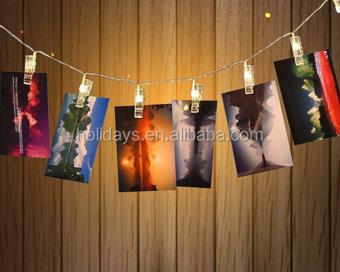 LED Photo Clips USB Powered 20LED Starry String Lights