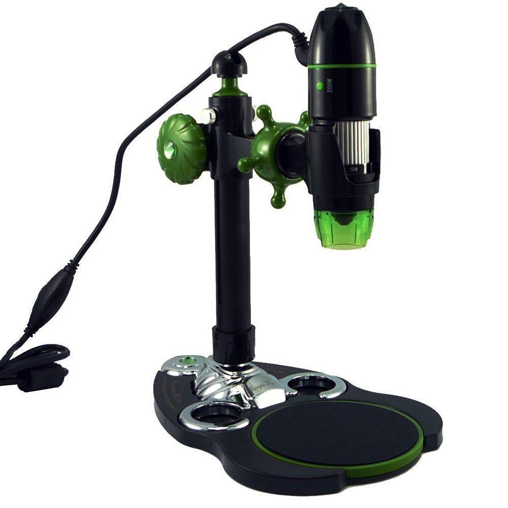 Handheld 3D USB Smart & Precision Digital Microscope USB Microscope Camera 500x Zoom with 360 Adjustable Stand