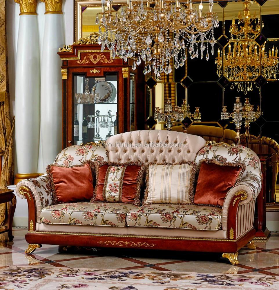2015 0038 classique européenne canapé meubles, Antique canapé ...