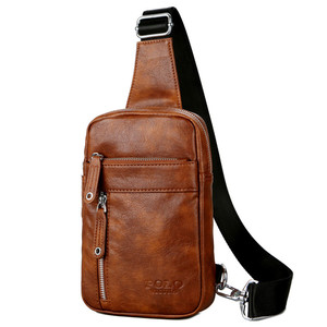 2019 VICUNA POLO Brand Custom China Suppliers Fashion Crossbody Bag  Wholesale Soft Leather Men Bag Chest 304f414d49708