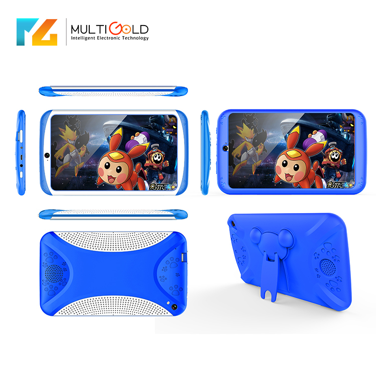 OEM 7 inch TFT 1024*600 Touch Screen Android 4.4 OS Super Smart Little Kid Baby Boys Reading Small Tablets PC For Toddlers