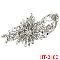 2016 bridal headwear beautiful flower tiaras twenties treasure side tiara