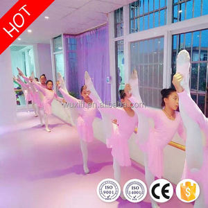 Low cost easy to clean pvc ballet dance hall vinyl floor for indoor