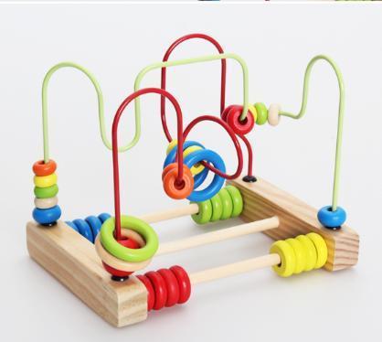 acheter b b jouet en bois perles fil labyrinthe jeu ducatif colorful jouets. Black Bedroom Furniture Sets. Home Design Ideas