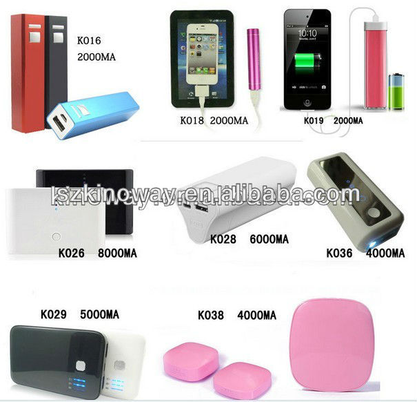 mobile power bank/mobile power supply from shenzhen china