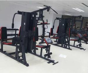 Ganas Hot Sale home gym parts body building equipment 5 station machine
