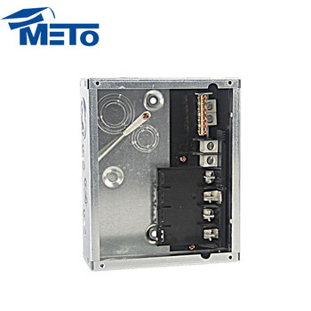 New 125a 120/240v 4 way plug-in flush type distribution board economy load center
