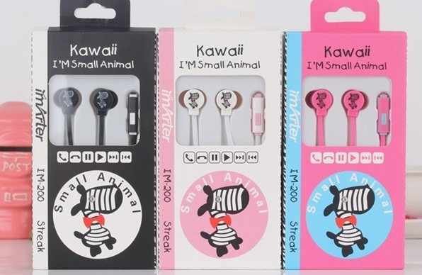 New Cute Earphones And Headphone,New Design Phone Accessories