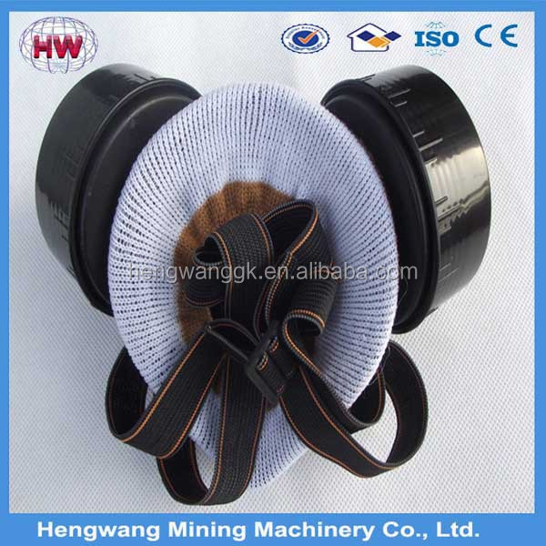 Half face gas mask with comprehensive filter /cartridge, Antigas Mask