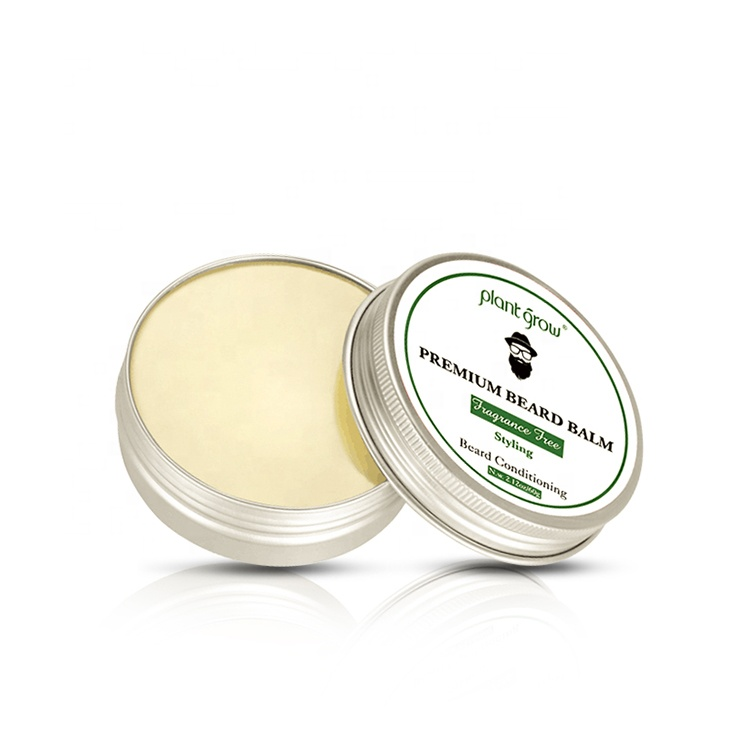Private label Wholesale Organic Beard Balm Growth Smoothing Balm Beard