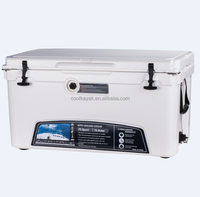 rotomolded insulated plastic ice cooler box can storage cooler