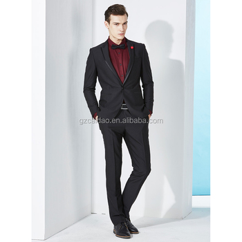 Manufacture Men\'s Slim Fit Black Wedding Tuxedos Styles For Groom ...