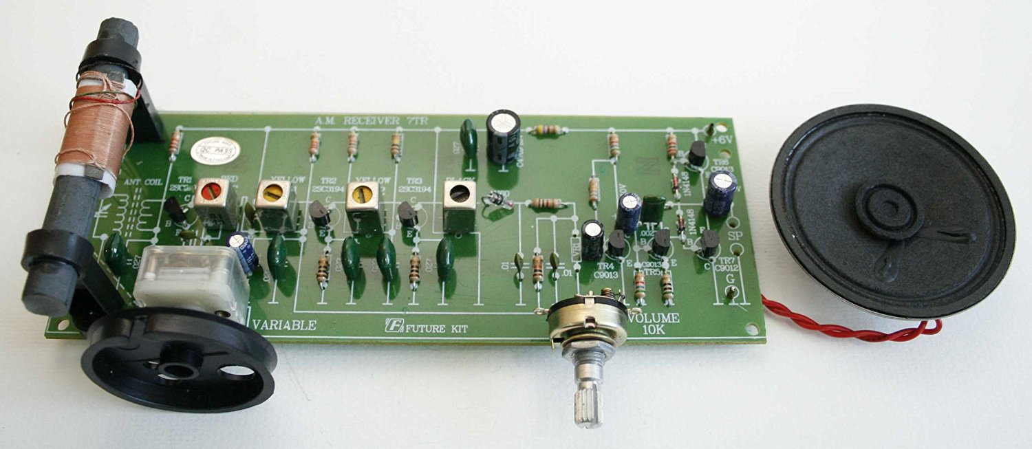 Cheap Circuit Of Radio Find Deals On Line At Electronic Boardcircuit Board For Power Supply Get Quotations Assembled Kit 7 Transistor Am Experimental 6vdc