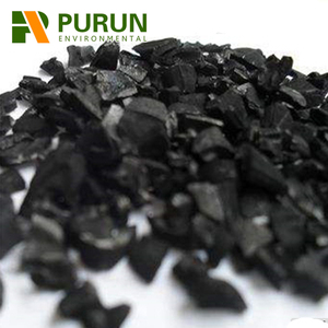 High quality coconut activated carbon filter media for liquor decoloration refining