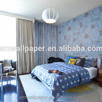 Por Children Room Kids Wallpaper Design For Wall Decoration Bedroom Product