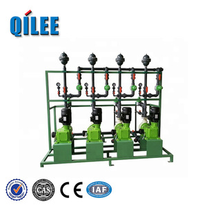 Chemical control chlorine dosing unit for chilled water