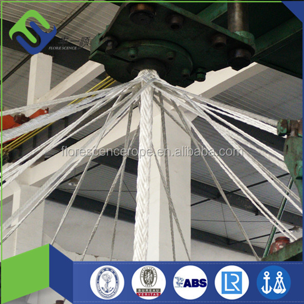 High corrosion resistance 12 strand polypropylene rope for fishing and port operation