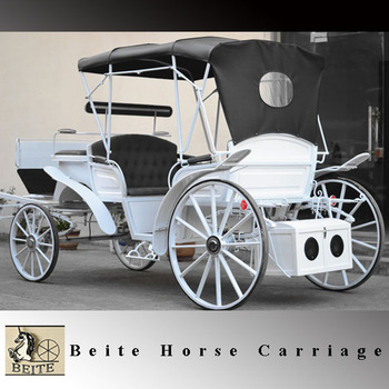 Beite Vis-a-vis wedding carriage with hydraulic brake