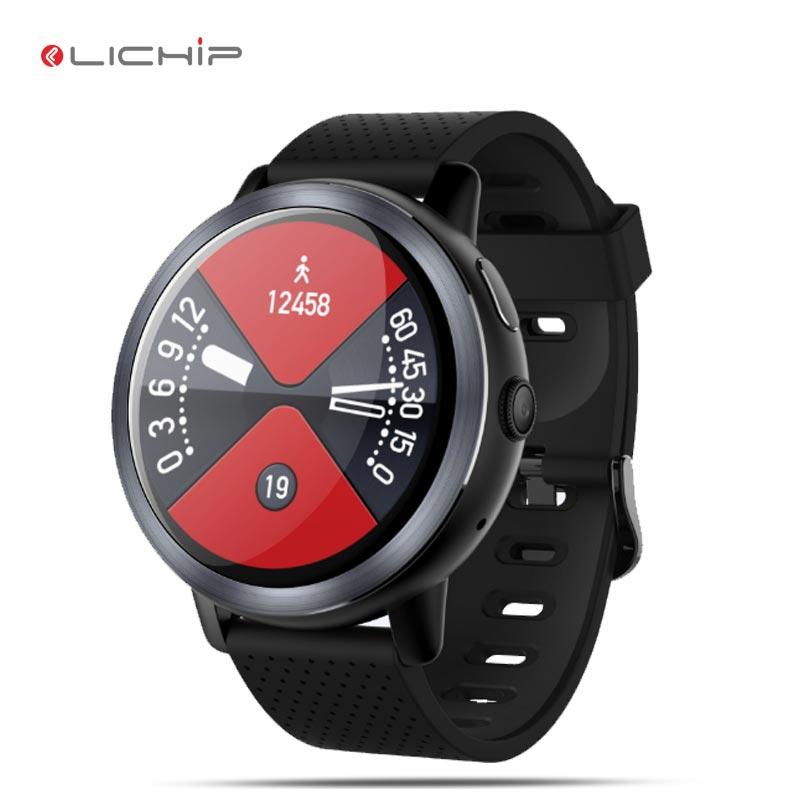 LICHIP L29 4G smart watch waterproof android mobile cell phone smartwatch 2019 3g 5g z29 wifi sim card wear mtk6739 фото