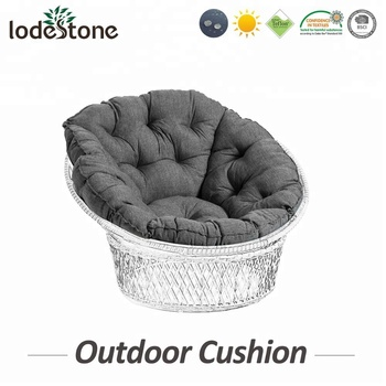 Outdoor Patio Wicker Tufted Seat Cushions Egg Chair Outdoor Cushion