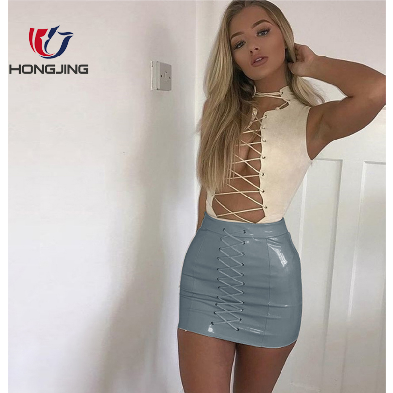 in sexy skirt tight woman