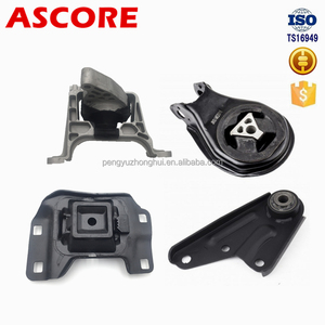 Ascore parts high quality engine mount kit front/rear/left/right engine support used for Mazda 3 1.4/1.6 03-09