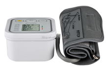 Electronic blood pressure monitor with heart rate monitor