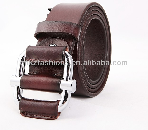 top layer cowhide leather men discount belt