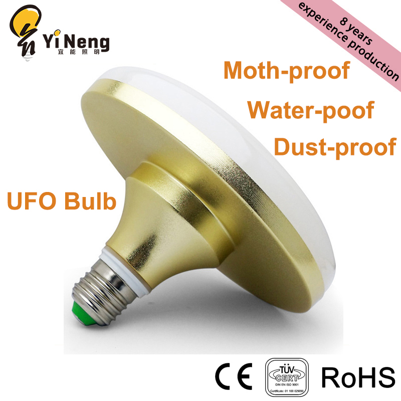 Factory Directly Sale Water-proof RA80 PF 0.6 100lm/w Good Heat Dissipation UFO LED Bulb Light