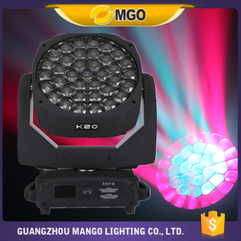 Event Lighting K20 Bee Eye Led Moving Head 37X15W