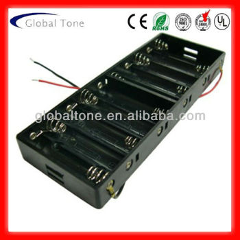 Gt3-1947 10*aa Cell(um 3) Battery Holder Side By Side