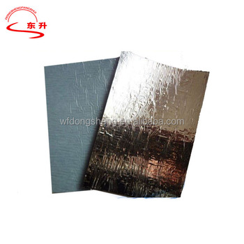 Perfect Self Adhesive Asphalt Roll Roofing With Aluminum Surface