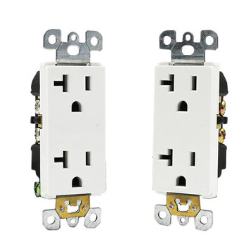 Tamper Resistant Receptacle 20a Socket Outlet Dual Duplex Receptacle usa gfci wall power