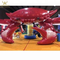 Advertising inflatable animal events giant inflatable crab
