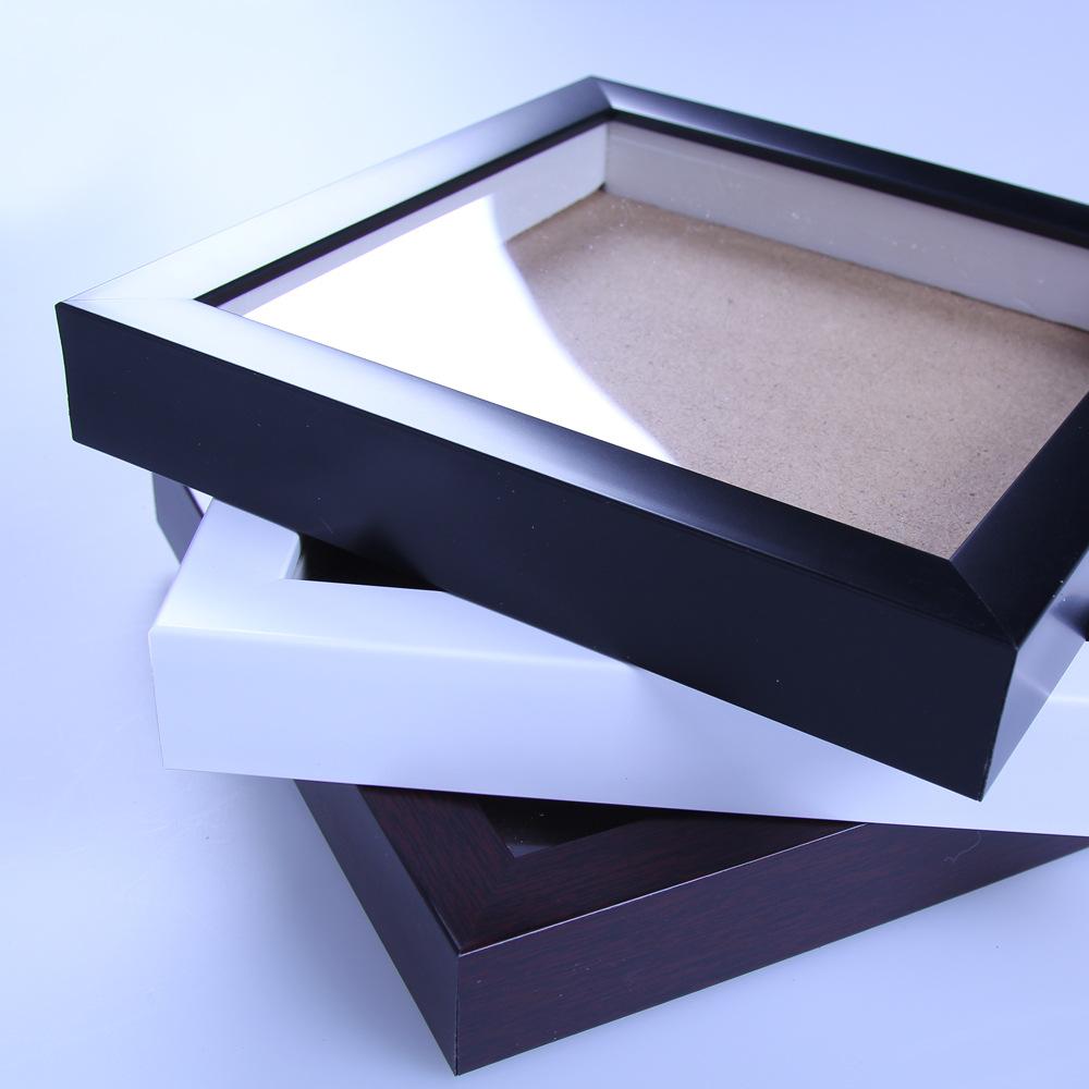Schwarz rahmen und MDF backboard 12x18 PS platz großhandel shadow ...