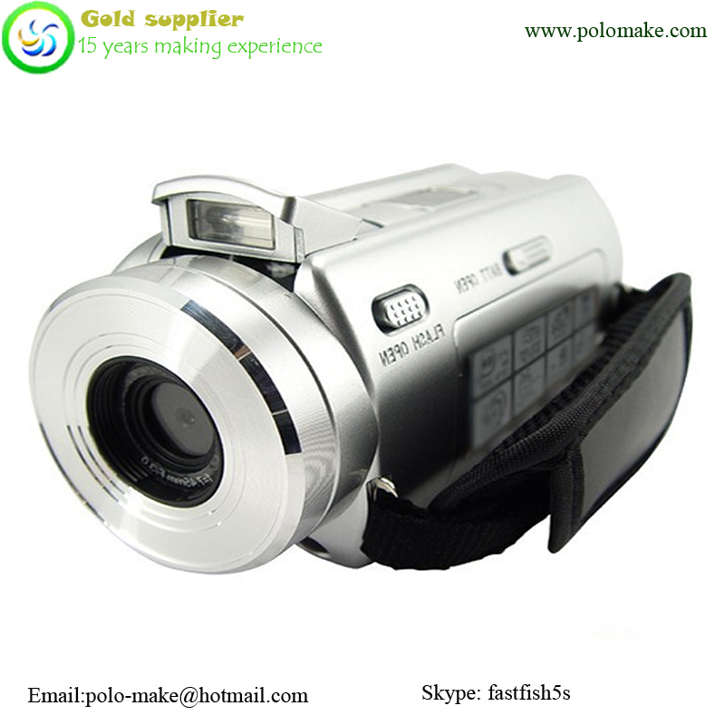 High definition digital camcorder with MP3 player