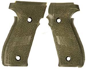 Sig Sauer OEM P226 grips Dark OD Green