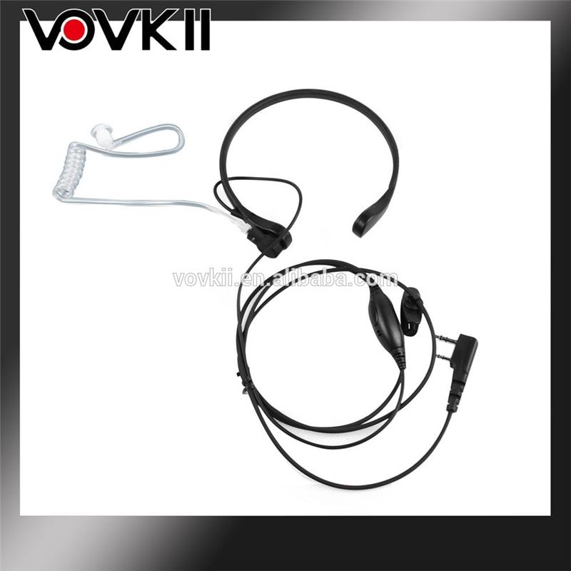 Arrival 2017 ear hook walkie talkie earpiece for kyd/kydera with high quality