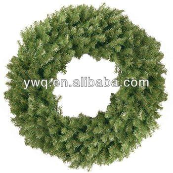 50cm Large Christmas Door Wreath Plain Christmas Wreath Outdoor ...
