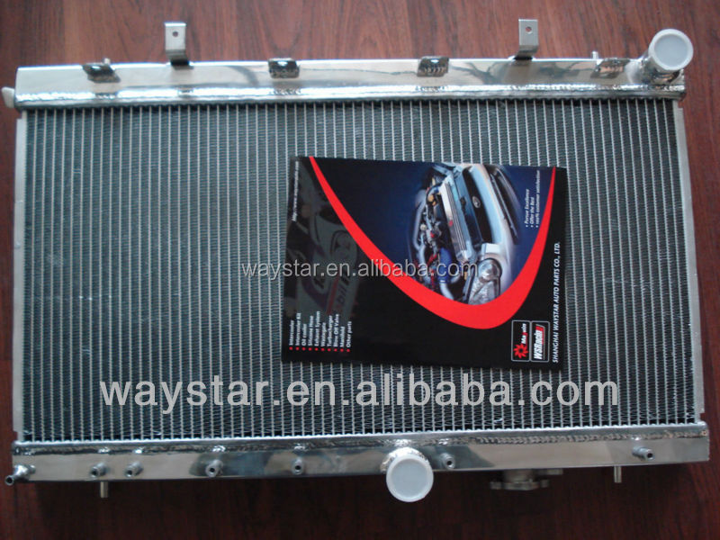 STI radiator for subaru STI 2008+ aluminum radiator