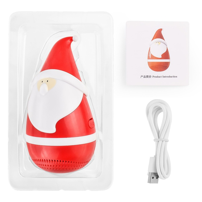 Best Christmas Gifts of  Santa Claus shaped Portable Stereo Speaker