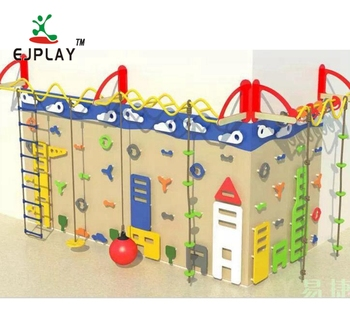 Good Plastic Customized Climbing Walls For Children