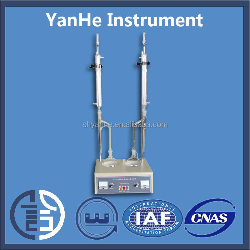 Syd-8929a Lab Crude Oil Water Tester With 1000 Ml Distillation ...