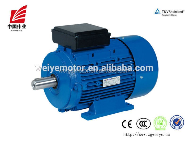 Professional Factory made 0.5hp low rpm single phase induction motor