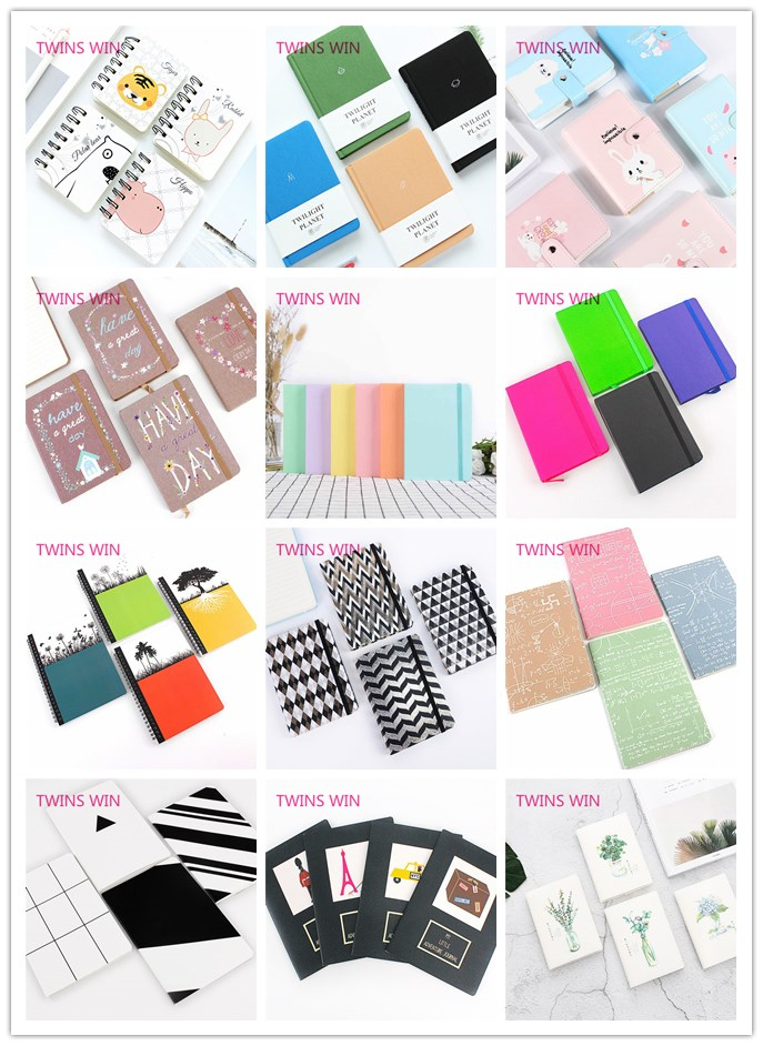 Made in china nieuwste en goedkoopste kawaii briefpapier gift items custom gedrukt fancy recycle papier blocnotes voor school 1205