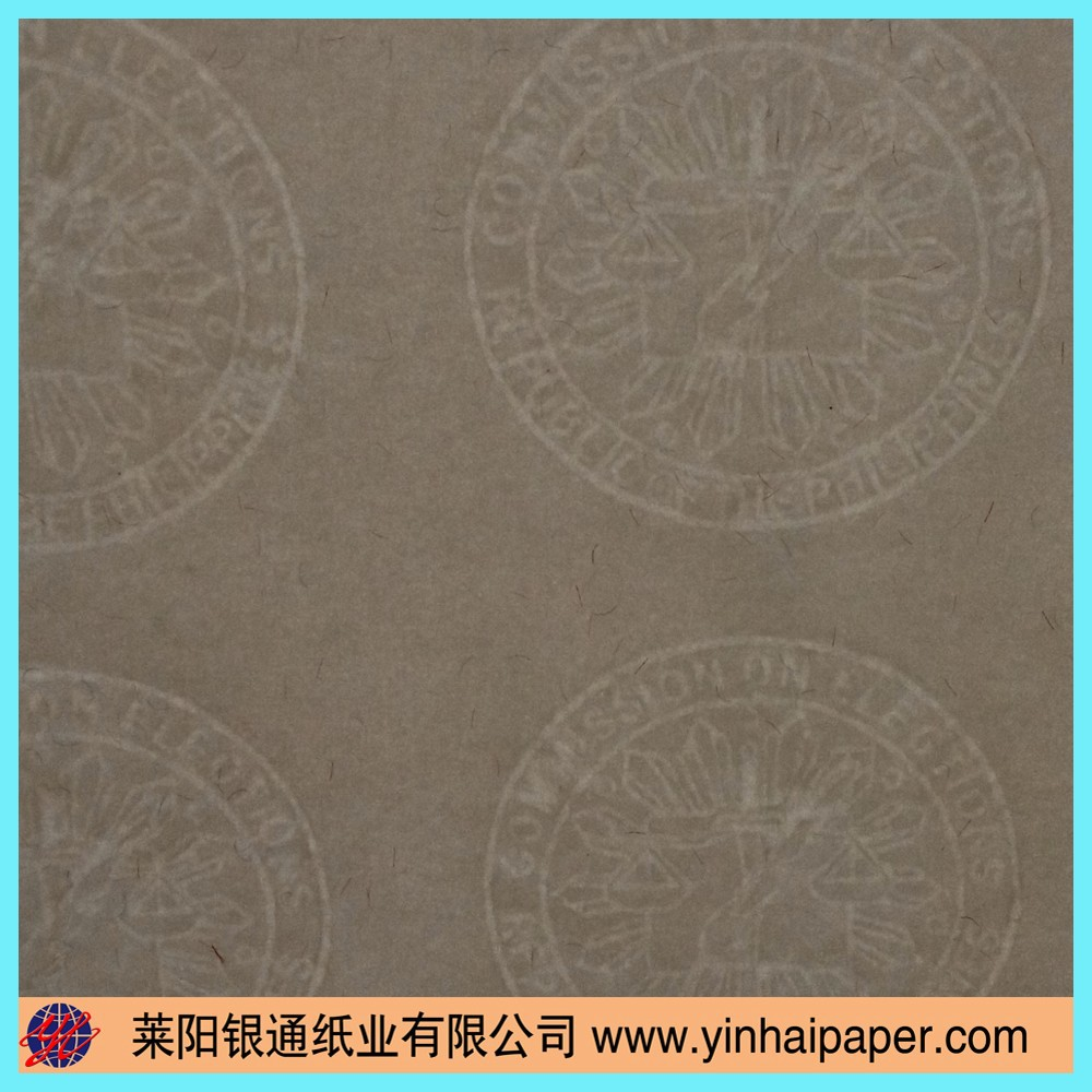 special watermark papers Your own watermark in all papers, see also a special, exclusive and yet inexpensive way of compensating is your logo, a watermark.