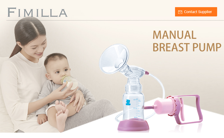 Baby Feeding Bottle For Mommy Manual Silicone Breast Pump